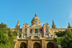 National Museum in Barcelona Stock Image