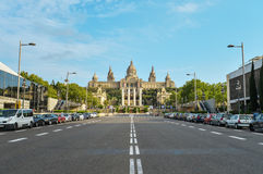 National Museum in Barcelona Stock Photo