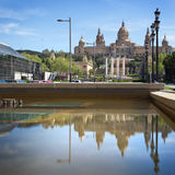 National Museum in Barcelona, Spain Stock Photos