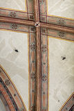 National Museum of Bargello. Florence, Italy-June 12, 2015. Interior detail view of sections of the ceiling artworks in one of the galleries of the National Royalty Free Stock Images