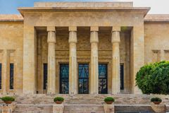 National Museum Beirut Lebanon. National Museum of Beirut capital city of Lebanon Middle east stock image