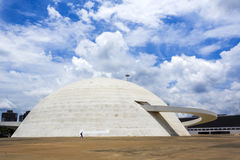 National Museum in Brasilia, Capital of Brazil Royalty Free Stock Images