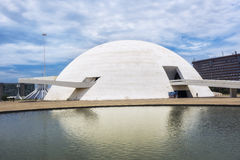 National Museum in Brasilia, Capital of Brazil Stock Photography