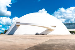 National Museum in Brasilia city, Brazil Stock Photos