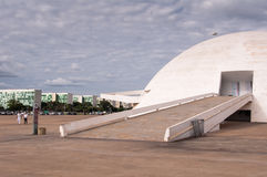National Museum of the Brazil Republic Stock Photos