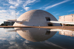 National Museum of the Brazil Republic Royalty Free Stock Photo