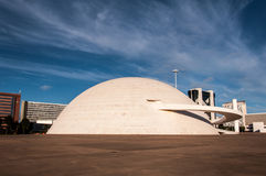 National Museum of the Brazil Republic Stock Image