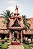 National Museum in Cambodia Independence Day Royal Palace Silver Pagoda Royalty Free Stock Images