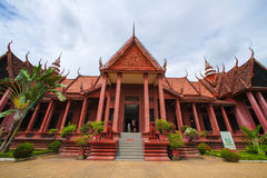 National Museum in Cambodia Independence Day Royal Palace Silver Pagoda Royalty Free Stock Photography