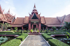 The National Museum of Cambodia in Phnom Penh, Cambodia Royalty Free Stock Photo
