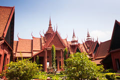 The National Museum of Cambodia Sala Rachana Phnom Penh, Cambo Royalty Free Stock Photo