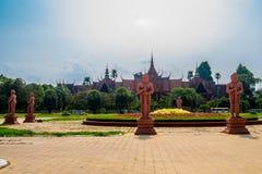 The National Museum of Cambodia. Sala Rachana. Phnom Penh, Cambodia Royalty Free Stock Photo