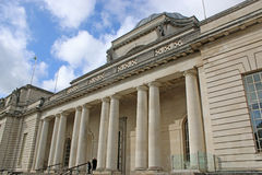 National Museum, Cardiff. Exterior of the national museum in Cardiff royalty free stock photography