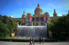 National Museum of Catalan Art,Barcelona Stock Image