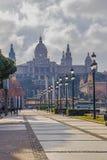 National Museum of Catalan Art MNAC on Plaza Espanya in Barcelona.  royalty free stock photography