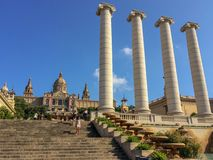 National Museum of Catalonia royalty free stock photography