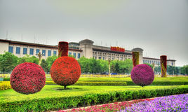 National Museum of China on Tiananmen Square in Beijing Stock Image