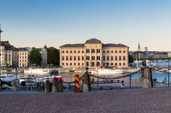 National Museum of Fine Arts near Lake Malaren, Stockholm, Swede stock photos