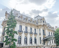 The National Museum George Enescu. The Cantacuzino Palace build by Gheorghe Grigore Cantacuzino alias Nababul from Bucharest, Romania Royalty Free Stock Image