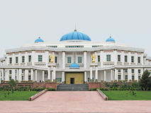 National museum of history in Ashgabat royalty free stock photo