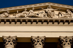 National Museum of Hungary, in Budapest Stock Photography