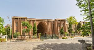 National Museum of Iran building Stock Images