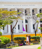 National Museum. Kids lurking at the National Museum of Natural History at the City of Manila, Philippines Stock Photos