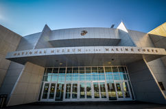 National Museum of the Marine Corps. Outside view of the National Museum of the Marine Corps museum in Triangle, Virginia Stock Image