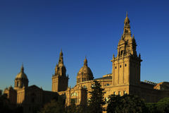National Museum MNAC in Barcelona Stock Photography