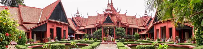 National Museum Of Cambodia At Phnom Penh Stock Photos