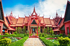 National Museum in Phnom Penh, Cambodia. Royalty Free Stock Images