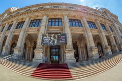 National Museum of Romanian History, Bucharest, Romania royalty free stock photos