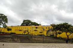 National Museum in San Jose - Costa Rica. In front of the National Museum in San Jose - Costa Rica Stock Image