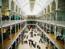 National Museum of Scotland Royalty Free Stock Photo