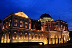 National Museum of Singapore Stock Photography