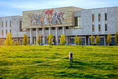 National museum in Tirana center Royalty Free Stock Images