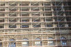 National museum under scaffolding Royalty Free Stock Photos