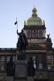 National Museum at the Wenceslas Square Royalty Free Stock Photography