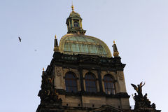 National Museum at the Wenceslas Square Royalty Free Stock Image