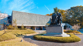 National Museum of Western Art in Tokyo, Japan Royalty Free Stock Images