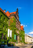 The National museum in Wroclaw, Poland Royalty Free Stock Images