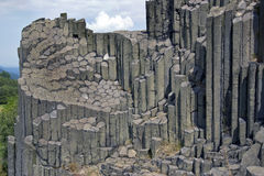 National Natural Monument. Lord's Rock is a geological site, which is located a stone organ separation, resulting columnar basalt magma during solidification Royalty Free Stock Images