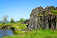 National Natural Monument of Panska Skala,Czech Republic. Stock Images