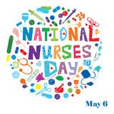 National Nurses Day Royalty Free Stock Photos