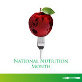 National nutrition month Stock Image