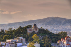 National Observatory of Athens Royalty Free Stock Photography