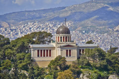 The national observatory, Athens Greece Royalty Free Stock Photos