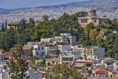 The national observatory, Athens Greece Stock Photography