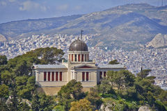 The national observatory, Athens Greece Stock Photo