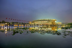 National Olympic Sports Center scenery Royalty Free Stock Image